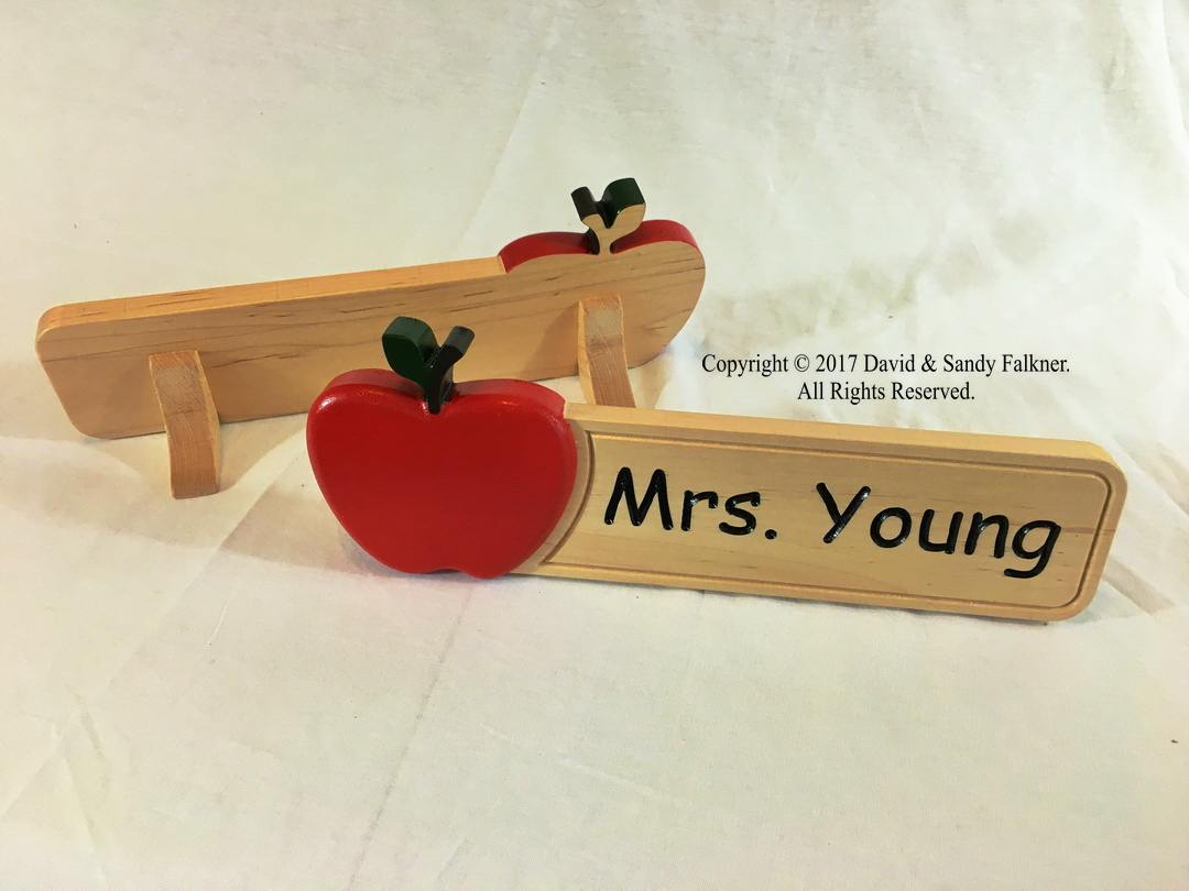 Painting on CNC routed signs bleeding into grain-001-apple-name-sign.jpg