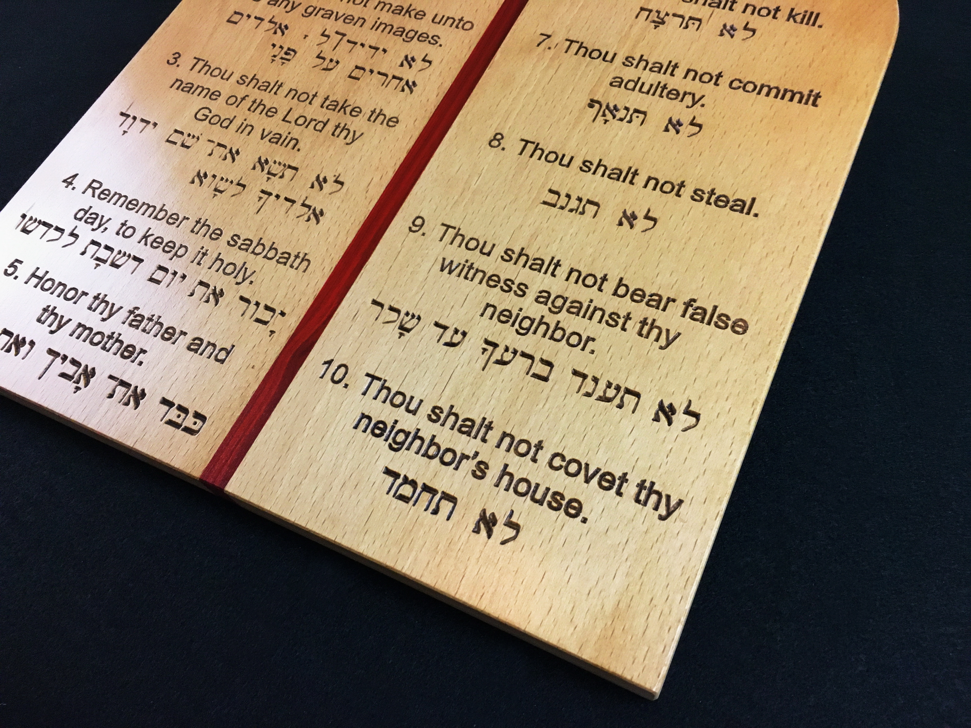 10 Commandments in English and Hebrew-002-10-commandments-english-hebrew-beech-red-heart.jpg