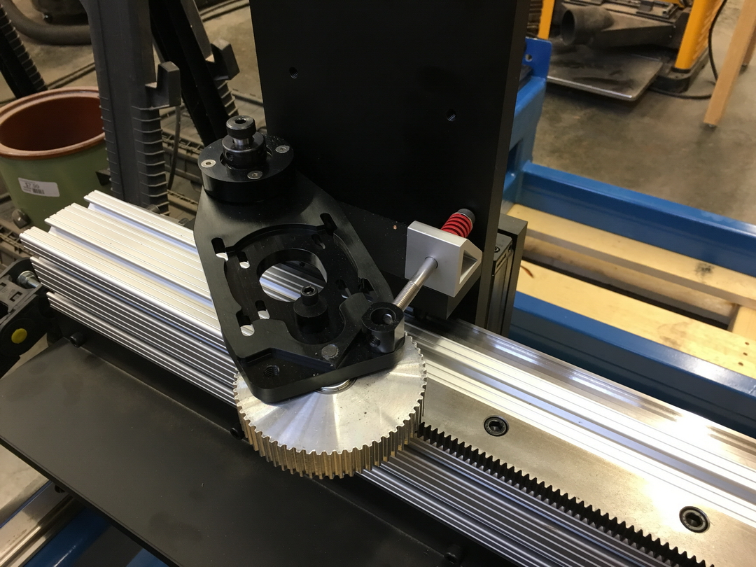 2nd Build (first) - CNC Router-005-drive.jpg