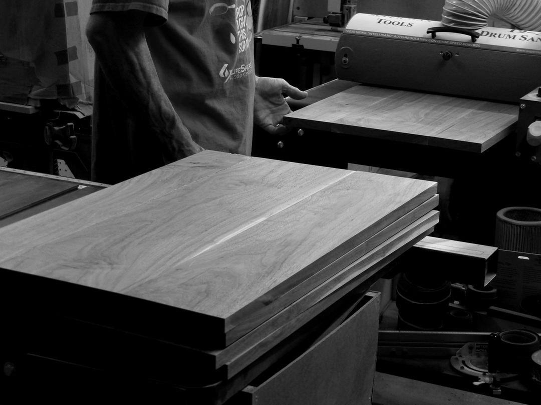 5 Walnut plaques-005-wide-drum-sander.jpg
