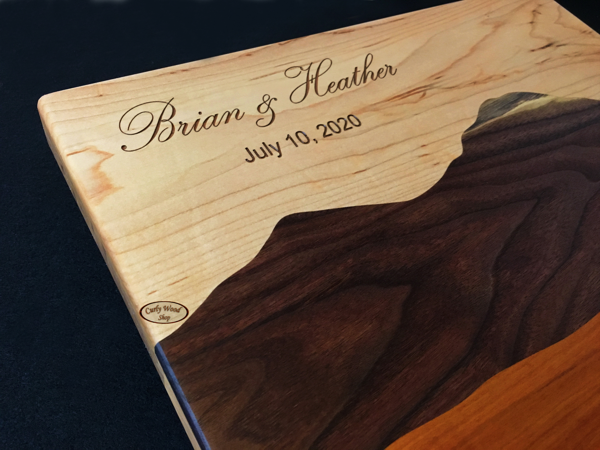 Mountain scene cutting board, laser engraved-006-mountain-sky-cutting-board.jpg