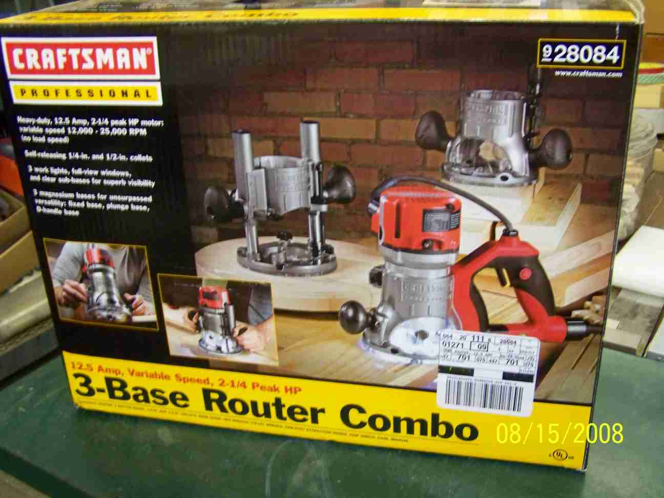 Dewalt Rauter Rebajadora Router Craftsman 27683 Wwwmiifotoscom