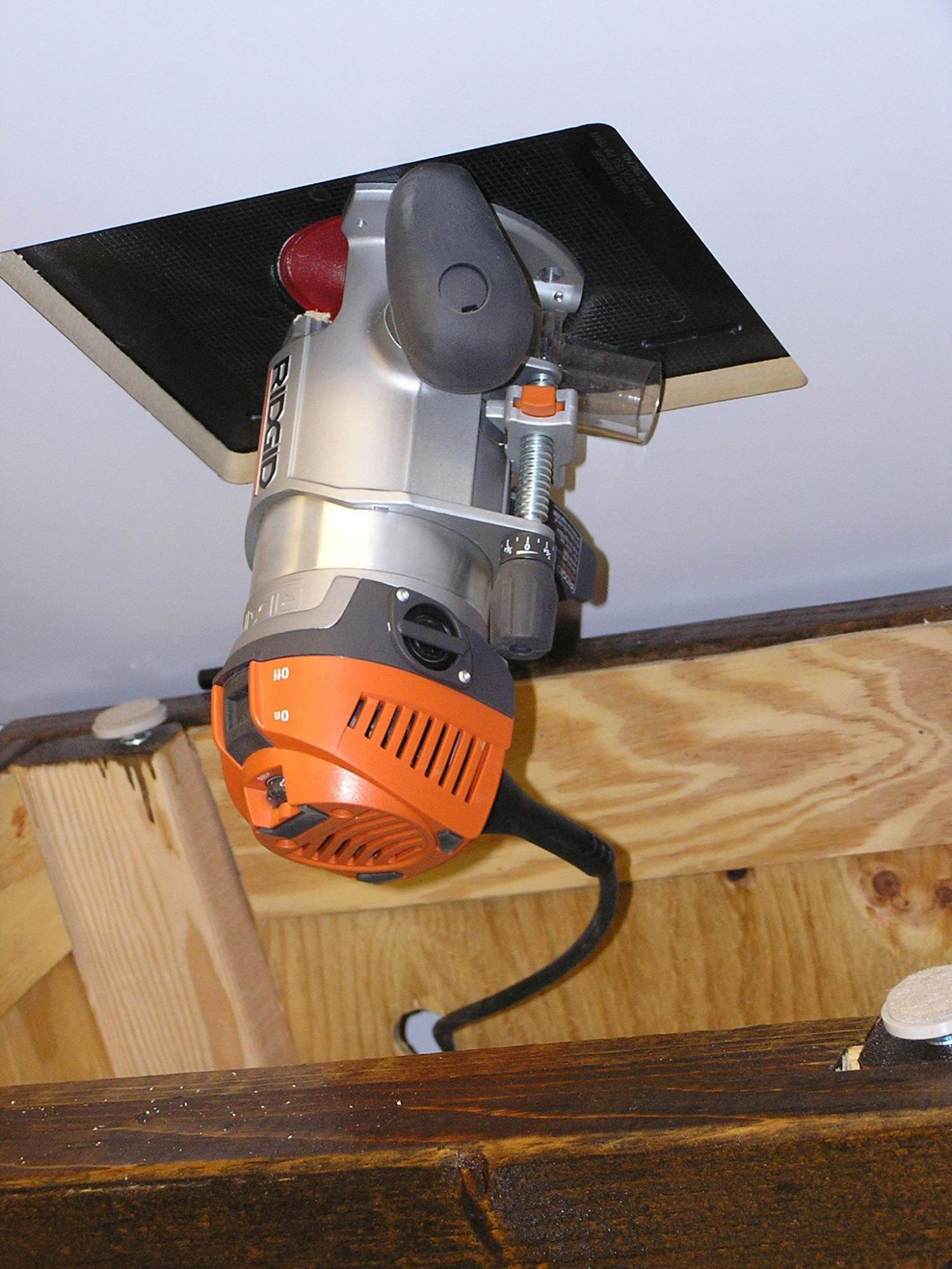 Ridgid r22002 router fixedplunge base bonus router forums click image for larger version name 048 router table 3g views keyboard keysfo Image collections
