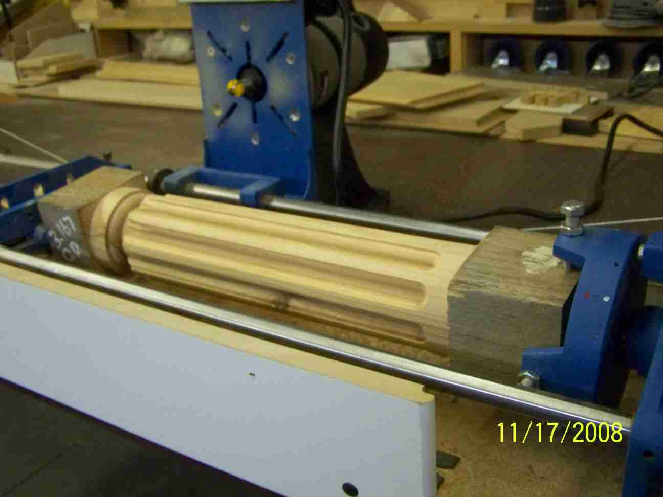 Cutting Flutes Into The Corners Of Posts Or Legs Router