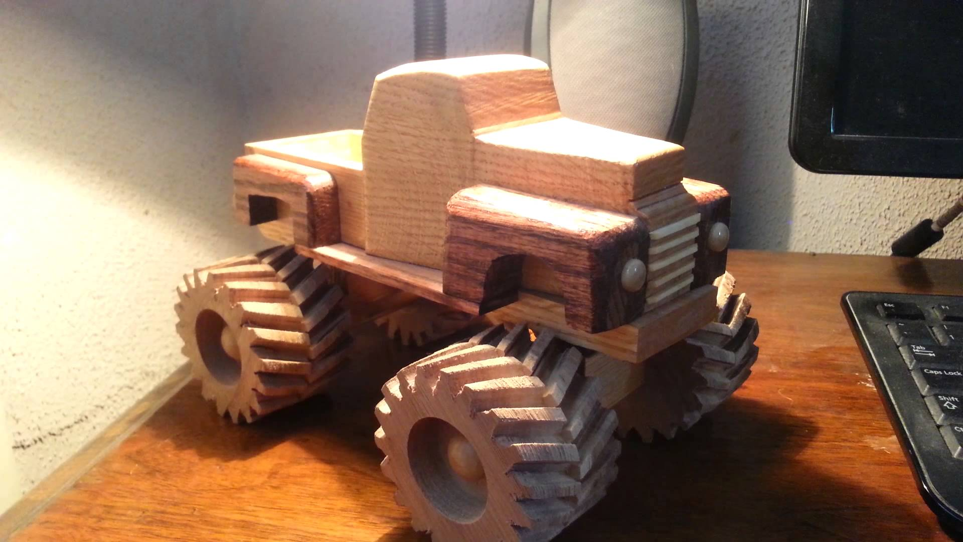 how i will make my monster truck wheels. - router forums