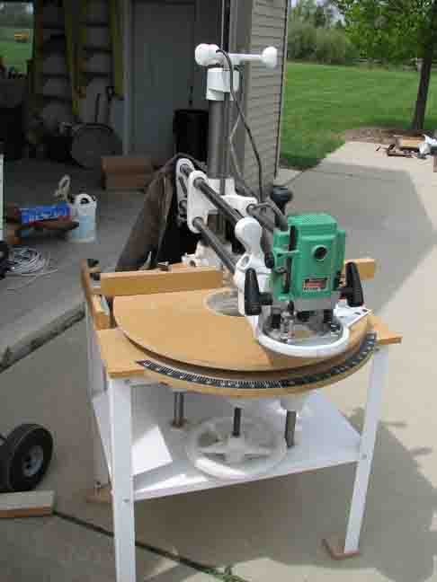 Radial Arm Router - Router Forums