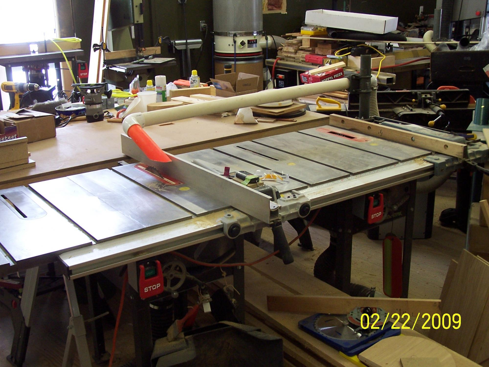 Twin Engine Table Saw Has 87 Span Router Forums