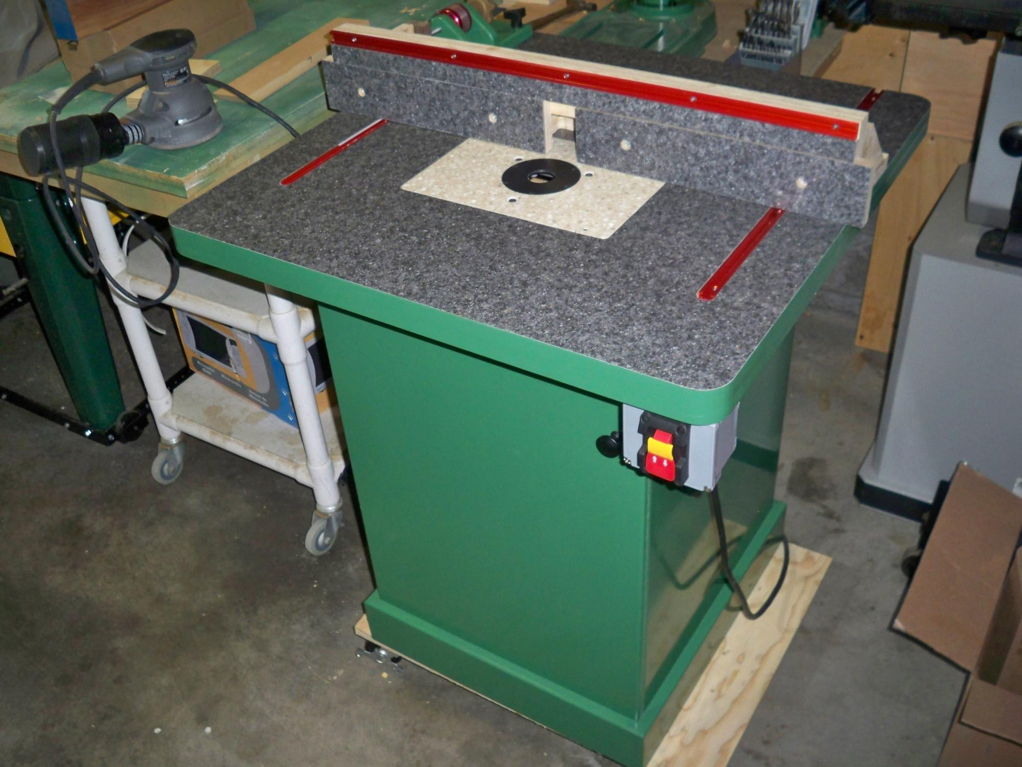 Diy router table lift - Click Image For Larger Version Name 100_4627 Jpg Views 533 Size 264 5