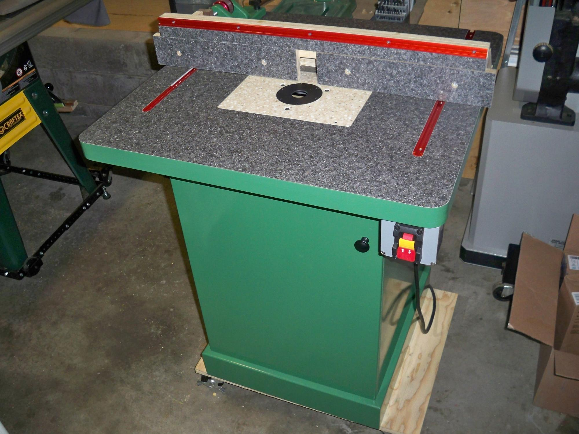 help me design (and build) my router table cabinet - Router Forums
