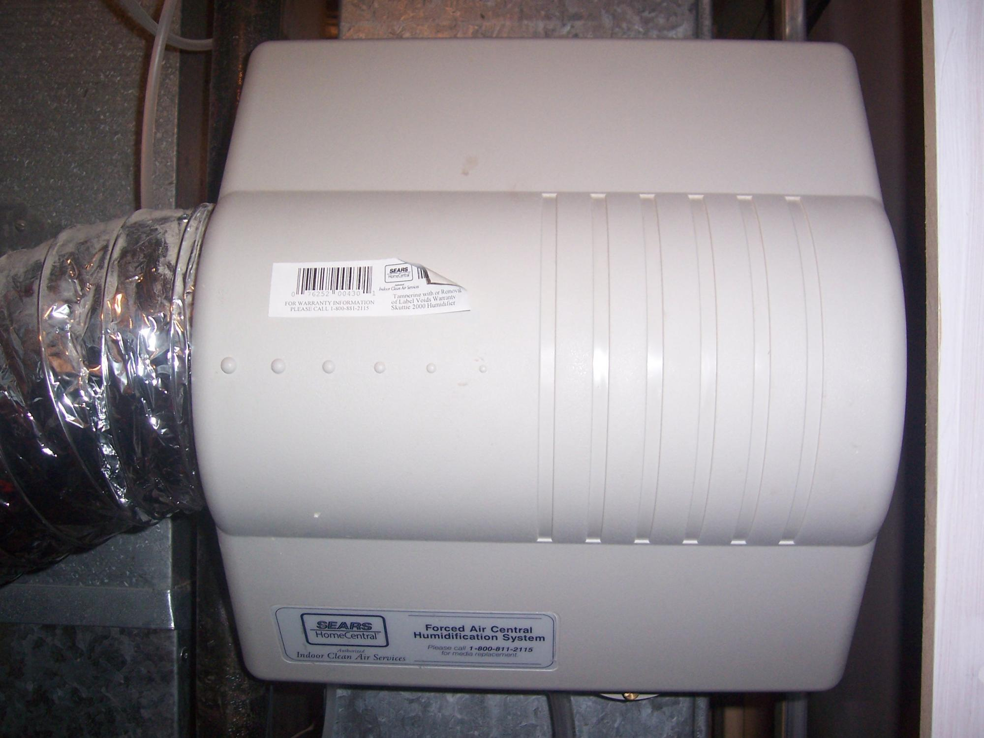 Repair Flow Through Humidifier Skuttle 2000 - Router Forums
