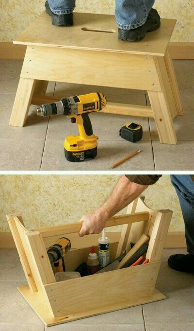 Tool Tote And Step Stool Combo And More Router Forums