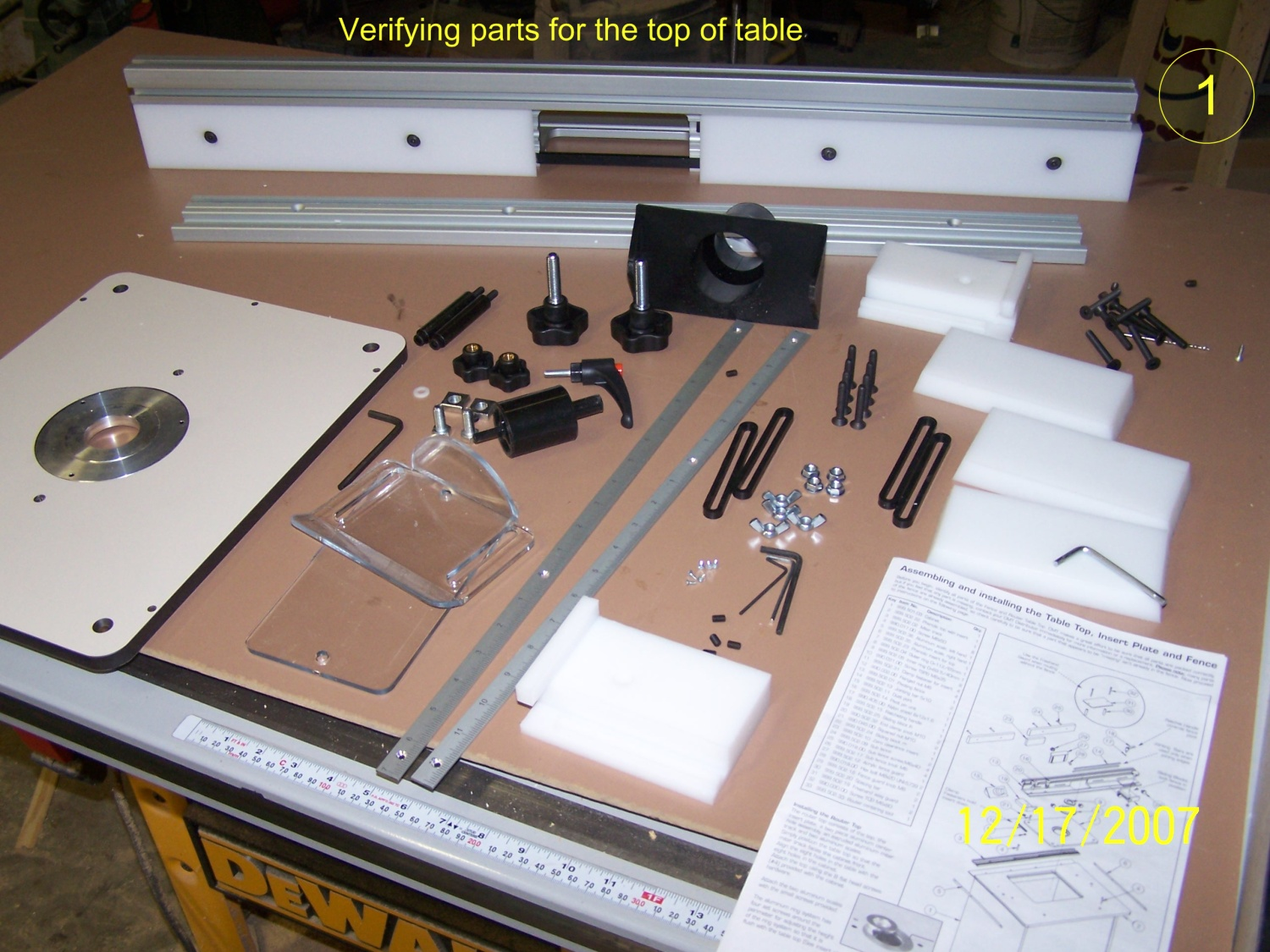 Cmt Industrio Router Table System Orange Cabinet Page
