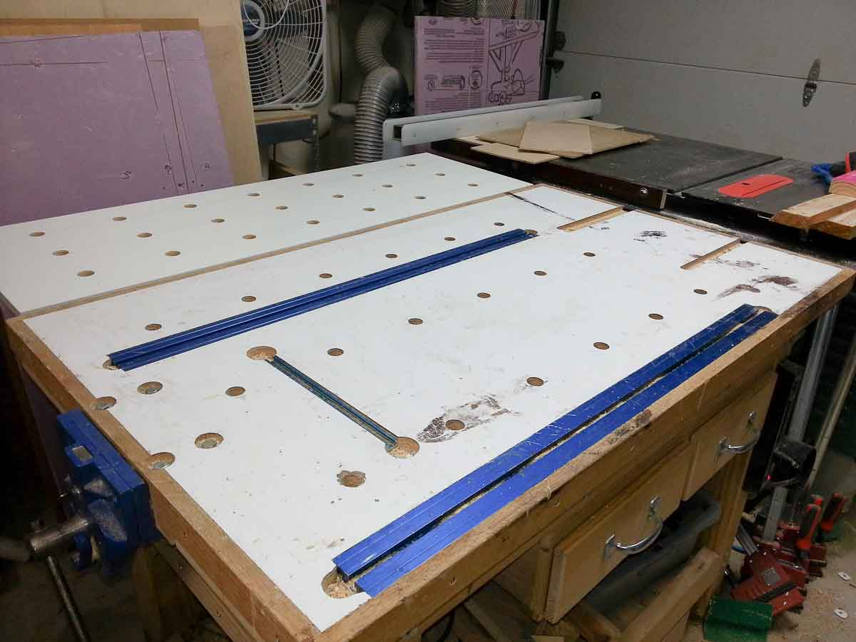 Work Bench Dog Hole Template Router Forums
