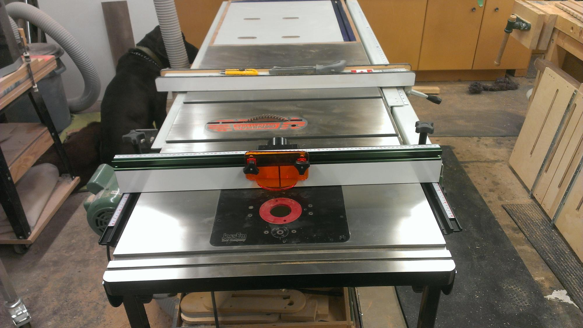 Cast Iron Router Table Extension Router Forums