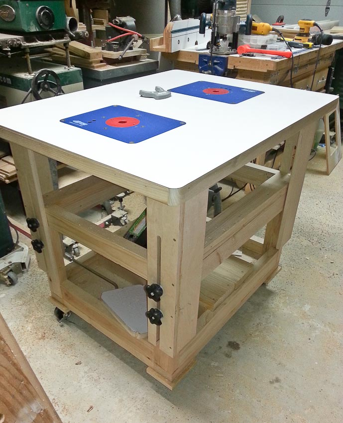 what is a for router table