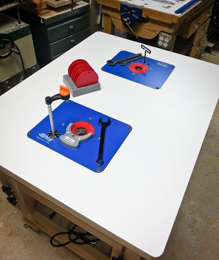 Kreg precision router table insert plate levelers image what insert plate router forums click image for larger version name 2014 06 03 174415 keyboard greentooth