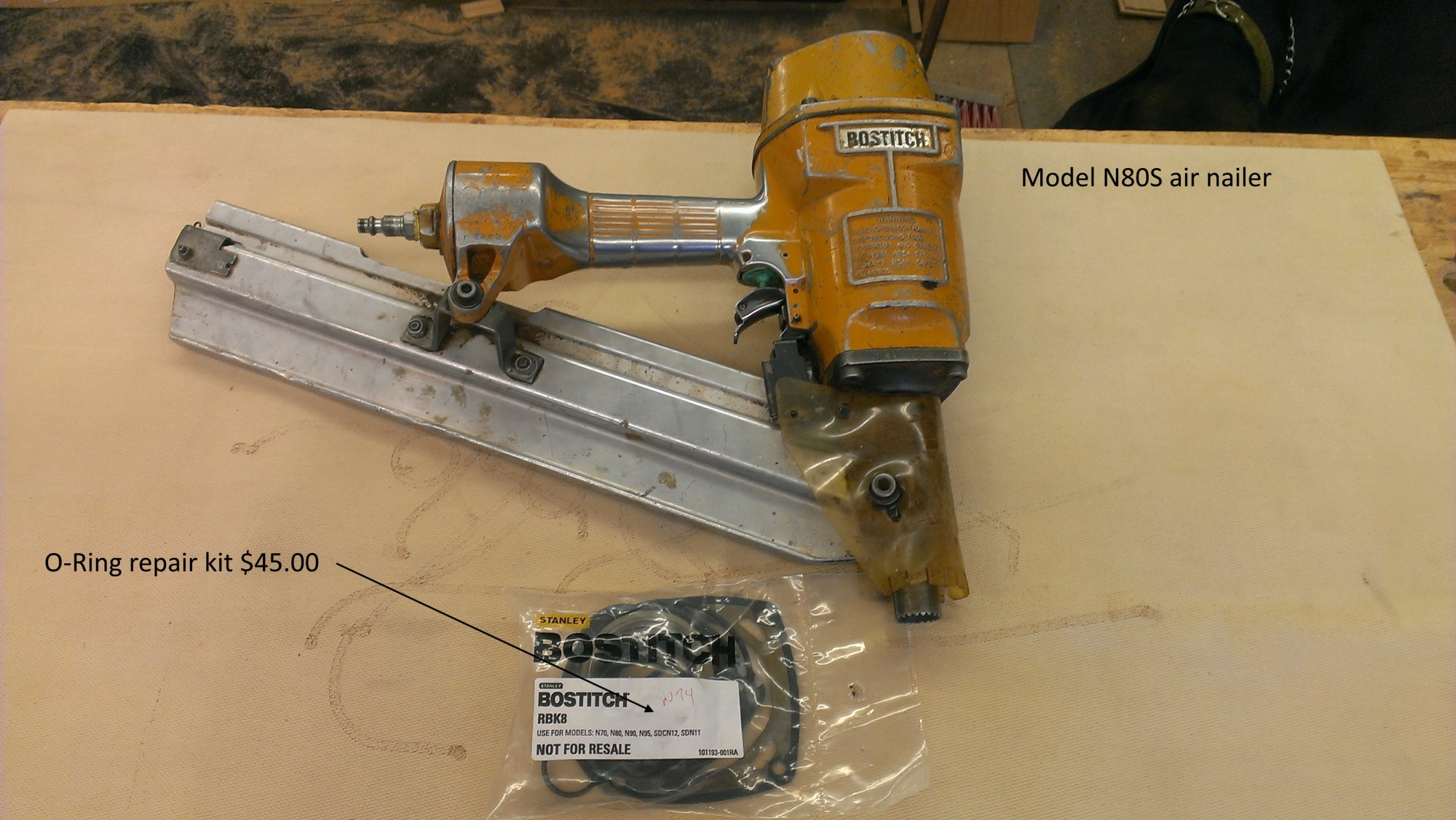 Bostitch - N80S framing gun - Router Forums