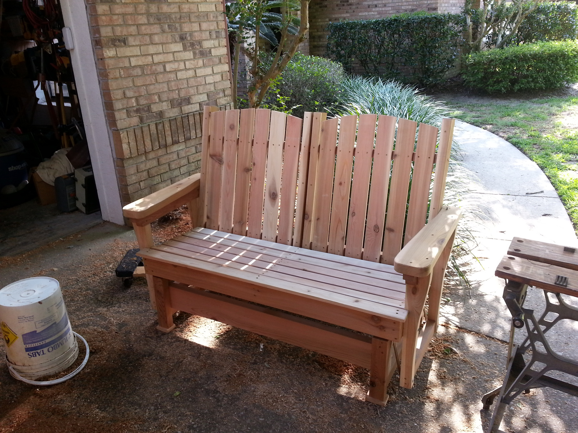 Oil Finish Outdoor Furniture