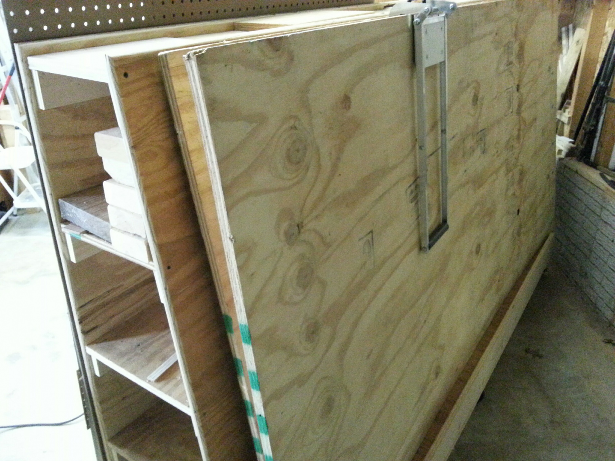 Lumber Storage Cart With Drawers Router Forums