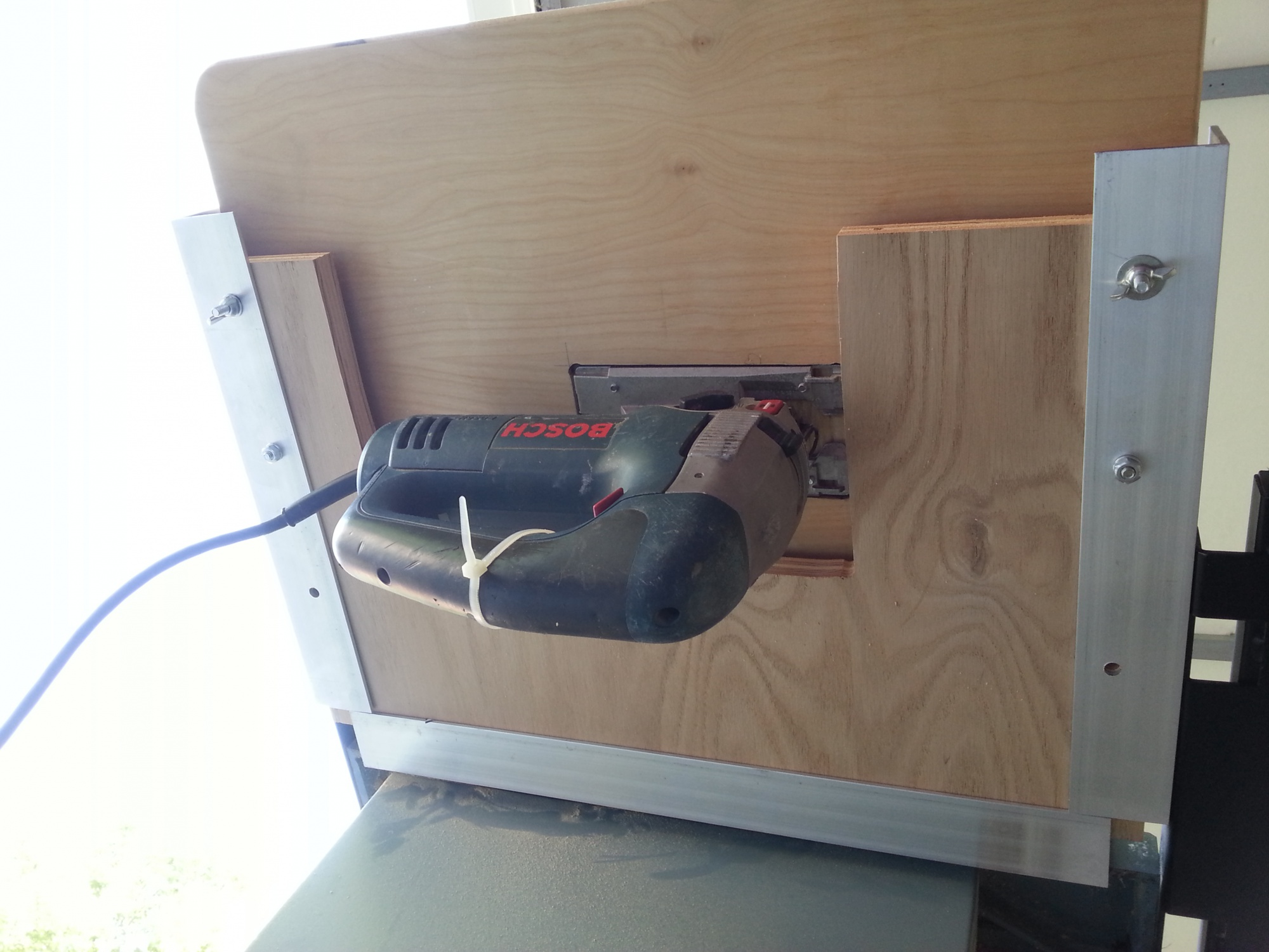Add A Jig Saw Table To Your Table Saw Router Forums
