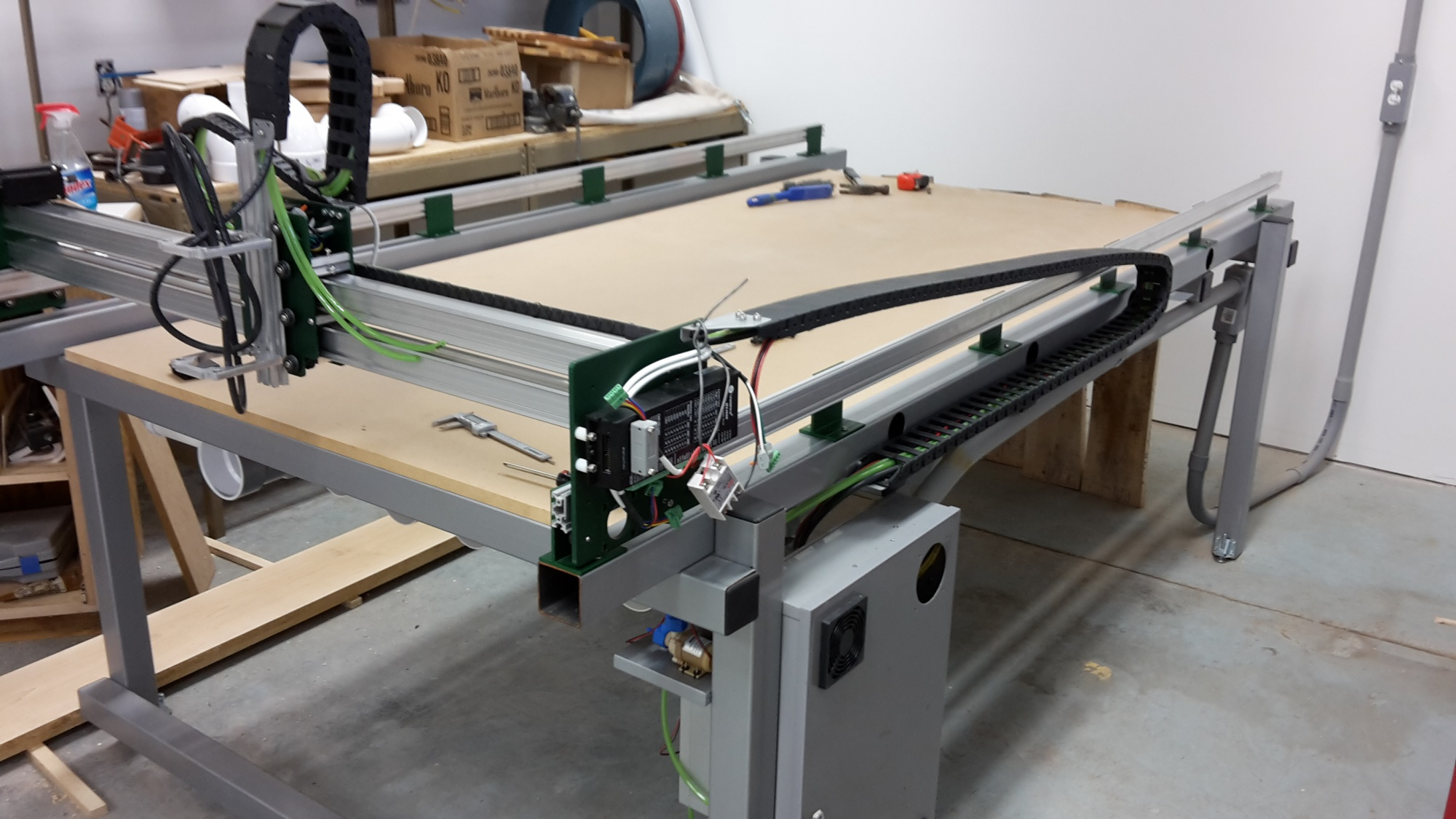 Wiring 12v pump for a cnc table router forums click image for larger version name 201704281529561g views 133 keyboard keysfo Images