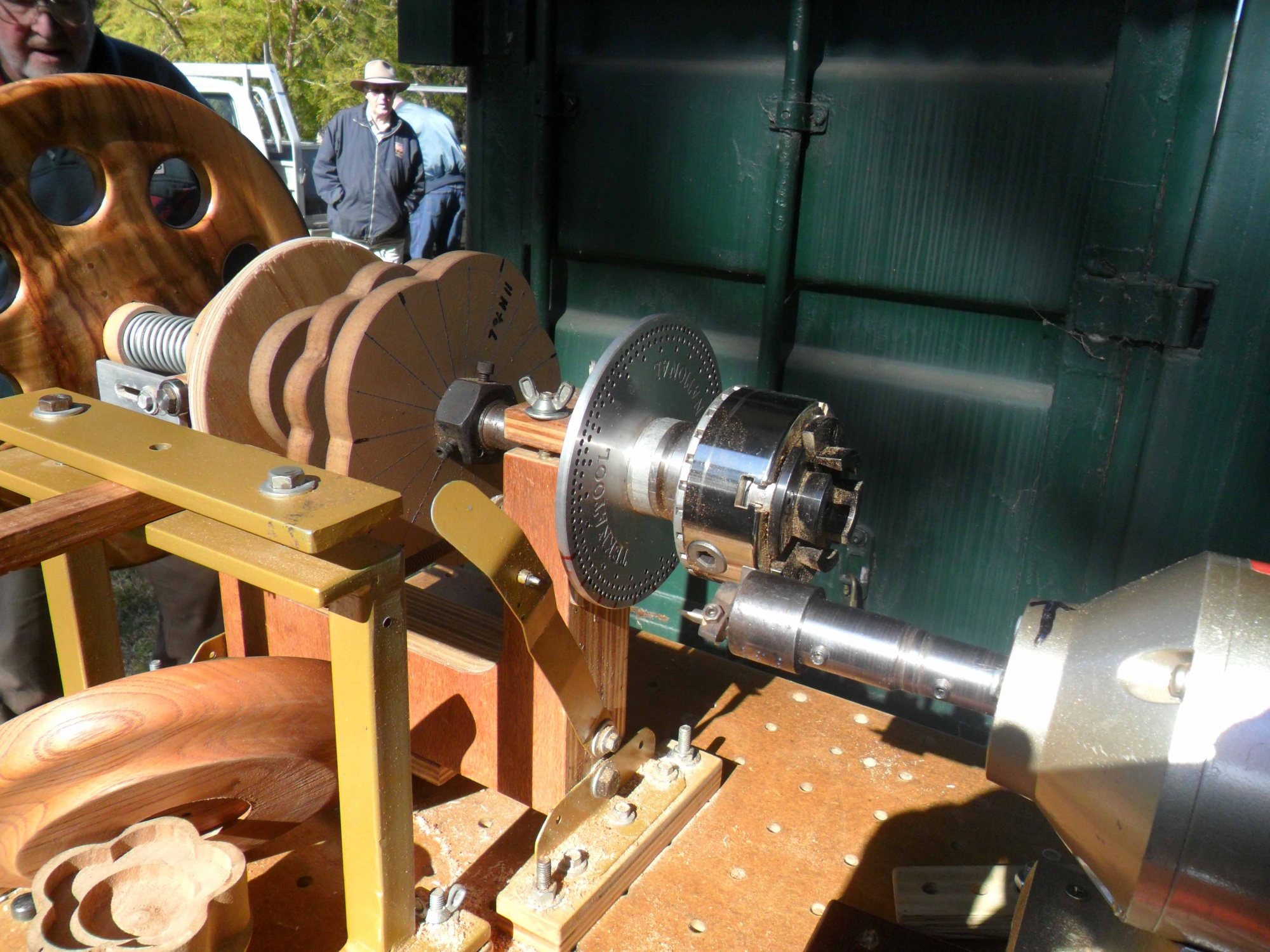 Rose Engine Lathe using Router - Router Forums