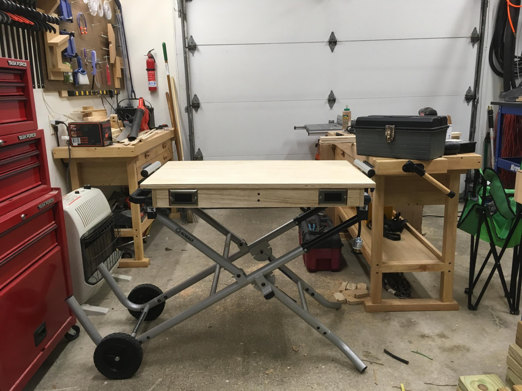 Astounding Mobile Work Bench Router Forums Bralicious Painted Fabric Chair Ideas Braliciousco