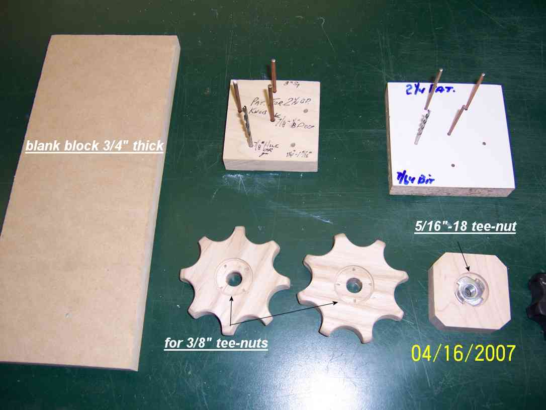 Jig Storage & Shop made Knobs - Page 2 - Router Forums