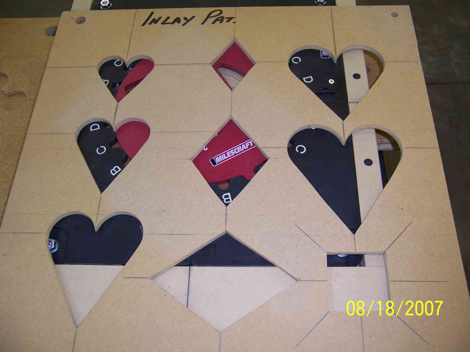 Making an inlay template router forums click image for larger version name 7217g views 706 size 722 spiritdancerdesigns Images