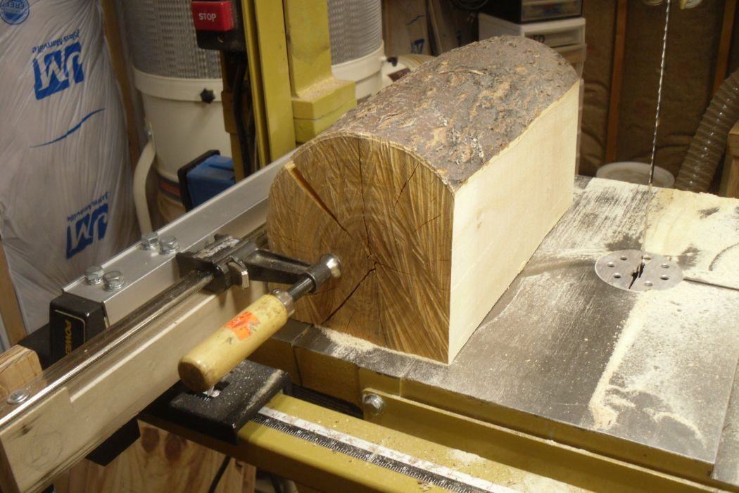 Band Saw Log Cutting Clamp Jig Router Forums