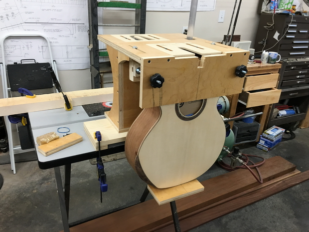 Acoustic guitar - neck joint fixture-body-clamped-ready-cut-mortise.jpg