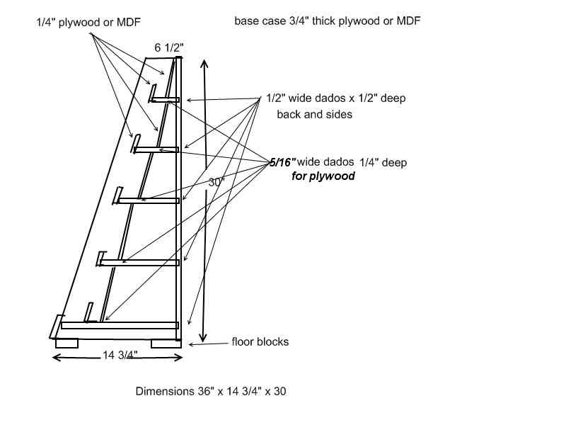 display stand plans