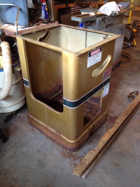 Restoration - Powermatic 66 Table Saw - Router Forums