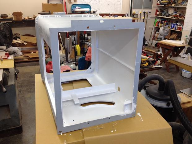 Restoration - Powermatic 66 Table Saw-cabinet-inside-painted-white.jpg
