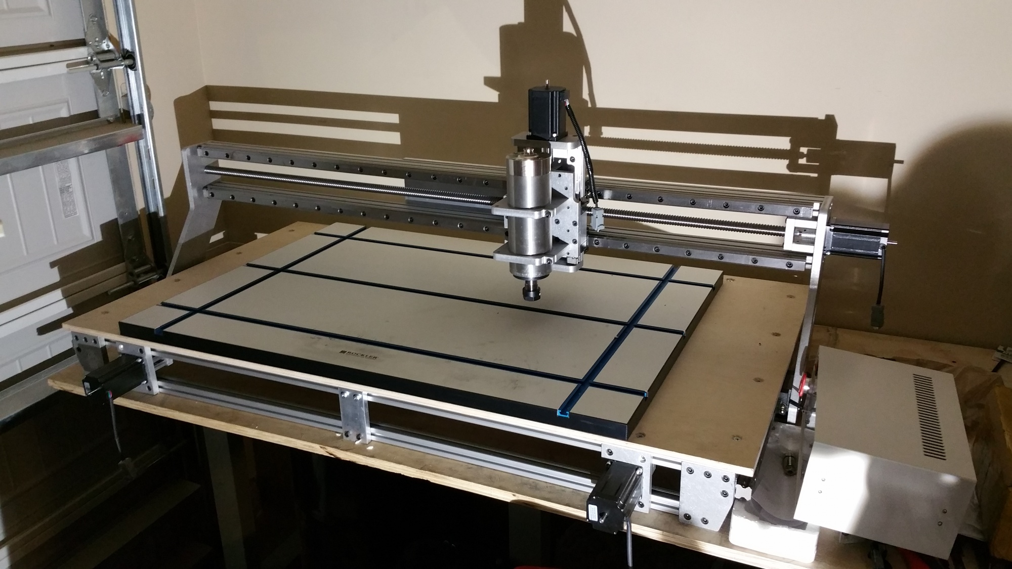 My cnc router build router forums for Best router motor for cnc