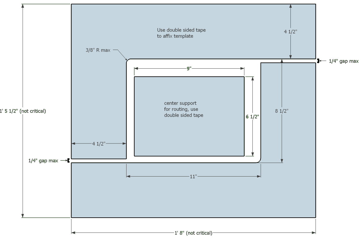 Incra magna lock router plate mdf template router forums click image for larger version name cutout template 2g views 871 greentooth Choice Image