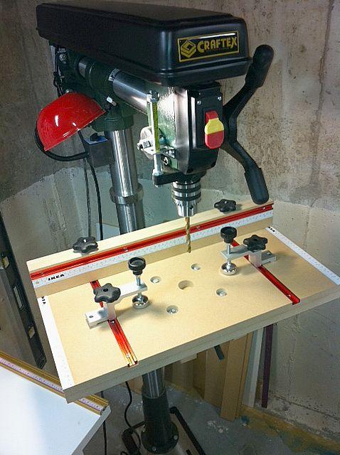 Radial Drill Press Jig