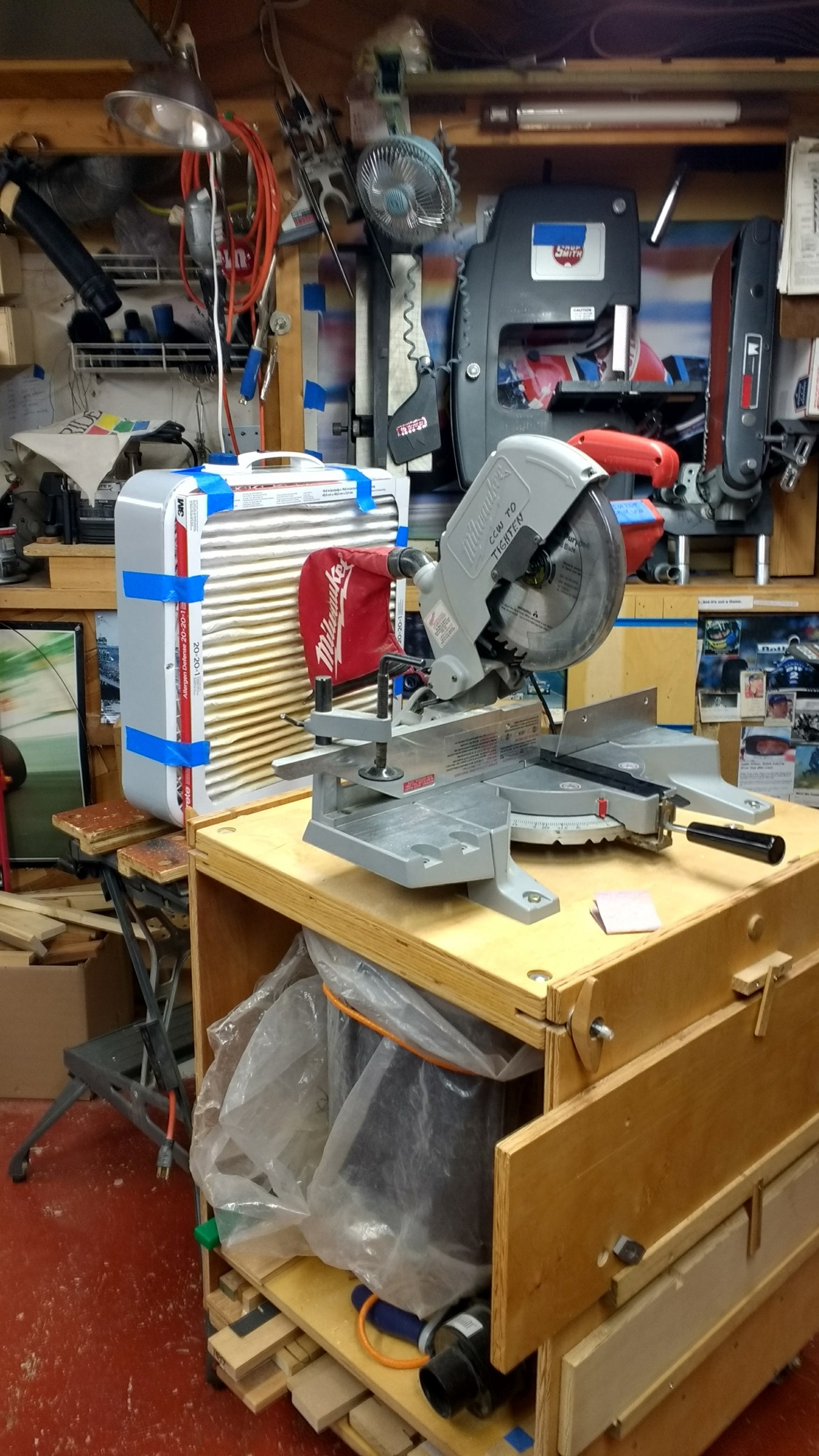 Dust Collection And A Compound Miter Saw Router Forums