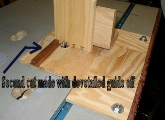 Simple Homemade Dovetail Jig Router Forums
