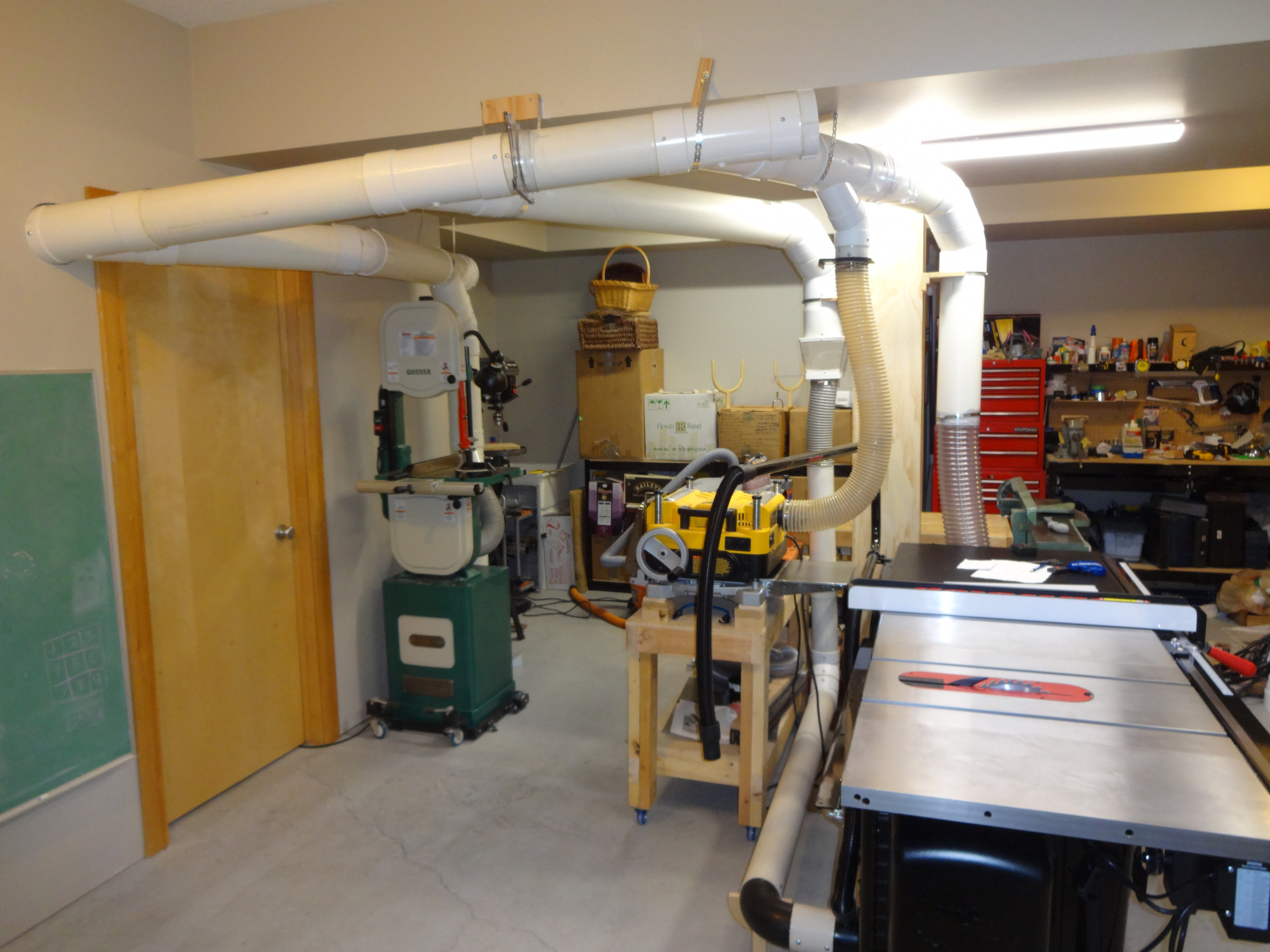 Dust Collection In Basement Shop Router Forums