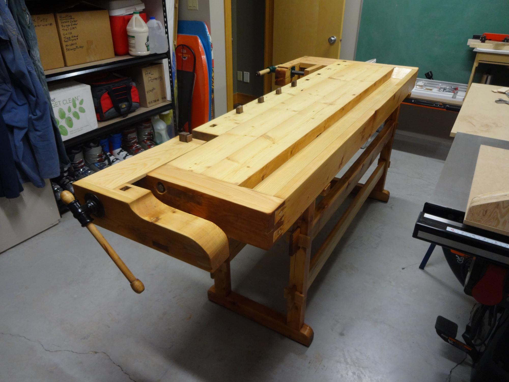 scandinavian workbench restoration - router forums