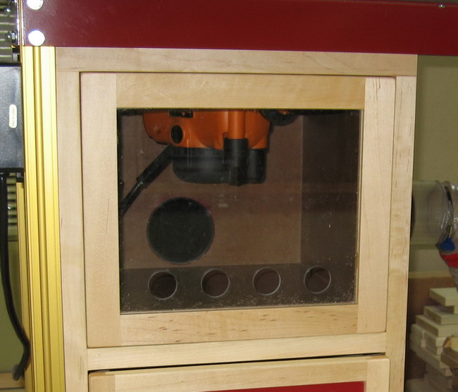Router Table for Incra LS Positoner completed!-dust-box-door.jpg