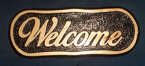 Name:  Finished Welcome Sign 5.jpg