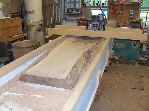 Jig For Making Thin Fret Boards For Banjo Router Forums
