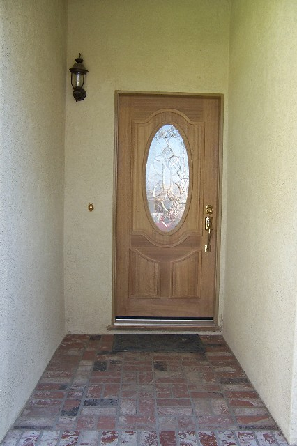Click Image For Larger Version Name: Front Door No Finish Large Web View