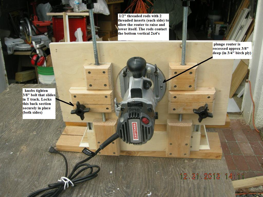 Horizontal router table adjustable top router forums click image for larger version name homemade horizontal router table 12 31 13 keyboard keysfo Image collections
