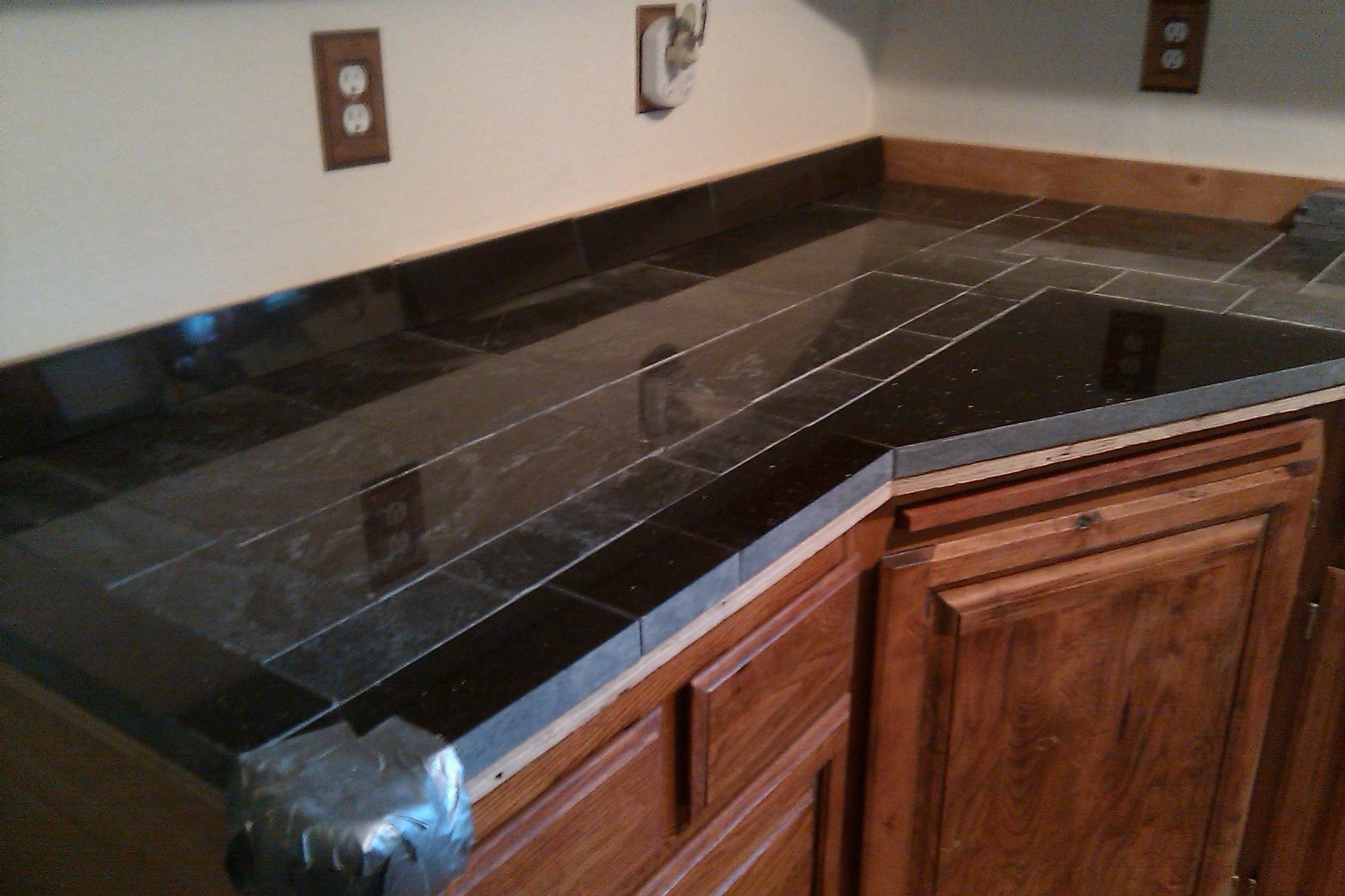 Diy Tile Kitchen Countertops Diy Scrap Granite Kitchen Counter Router Forums