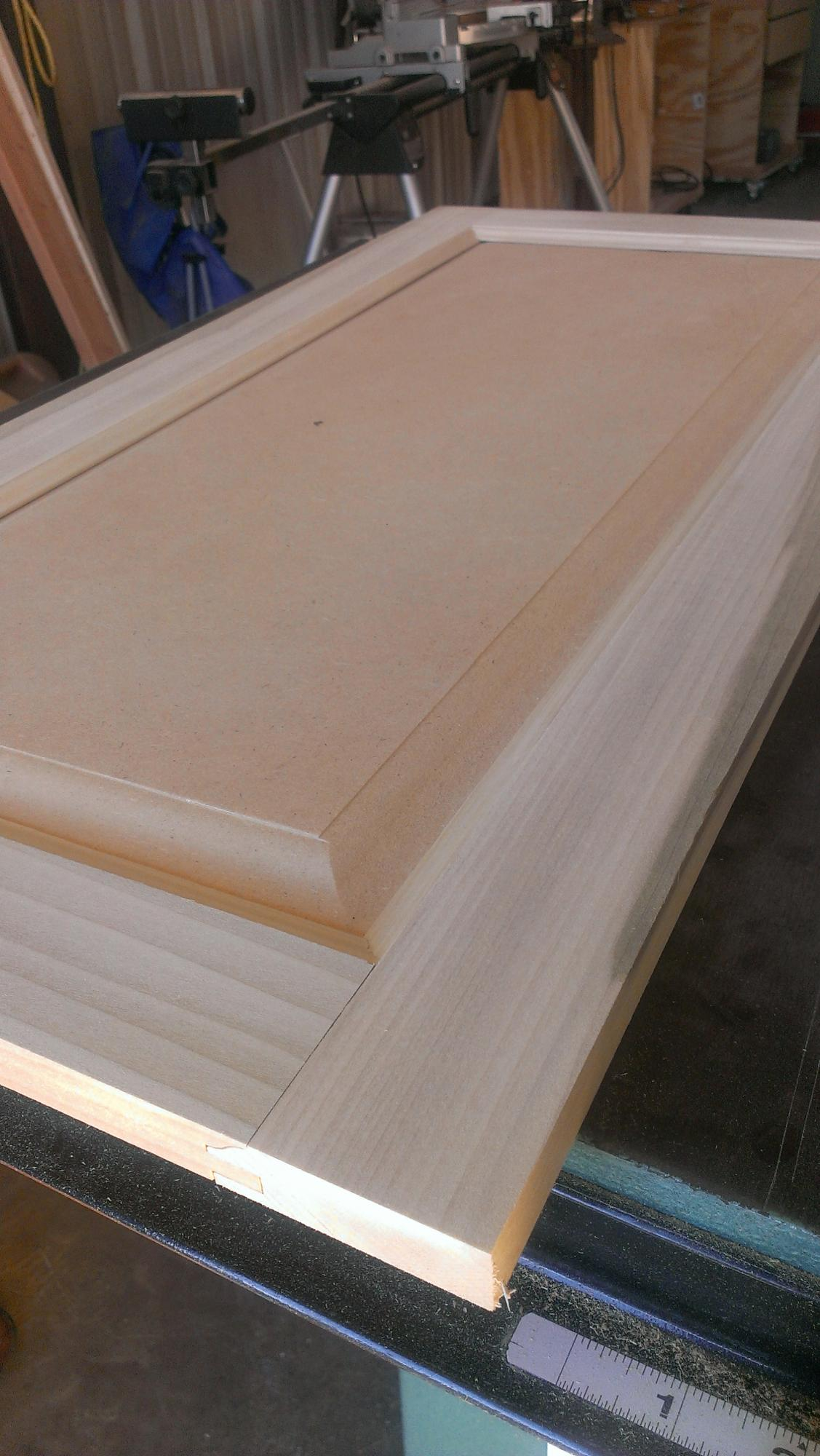 Routing Flat Panel Cabinet Doors Router Forums
