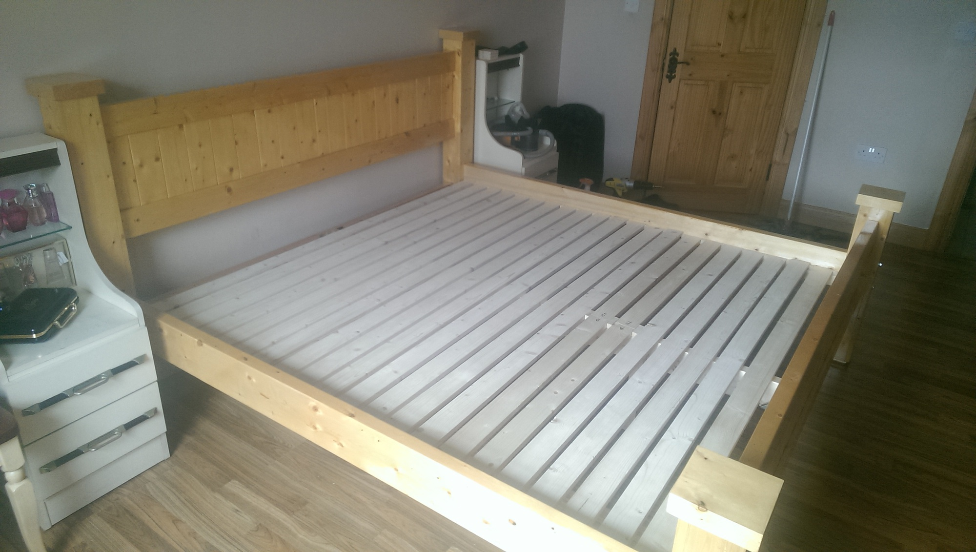 How To Add Mattress Support Slats to Bed Frame - Page 2 - Router Forums