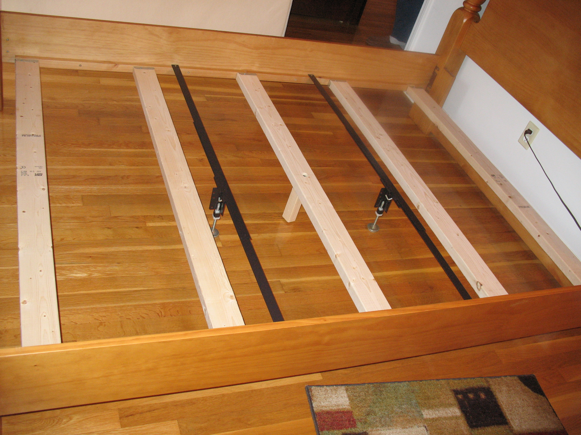 Bed Frame 9 Steps with Pictures  Instructablescom